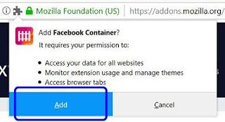 أداة, لمنع, وايقاف, فيسبوك, من, تتبع, المعلومات, الشخصية, الخاصة, بكم, Facebook ,Container, اخر, اصدار