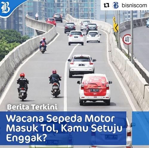 Wacana Motor Masuk Jalan Tol