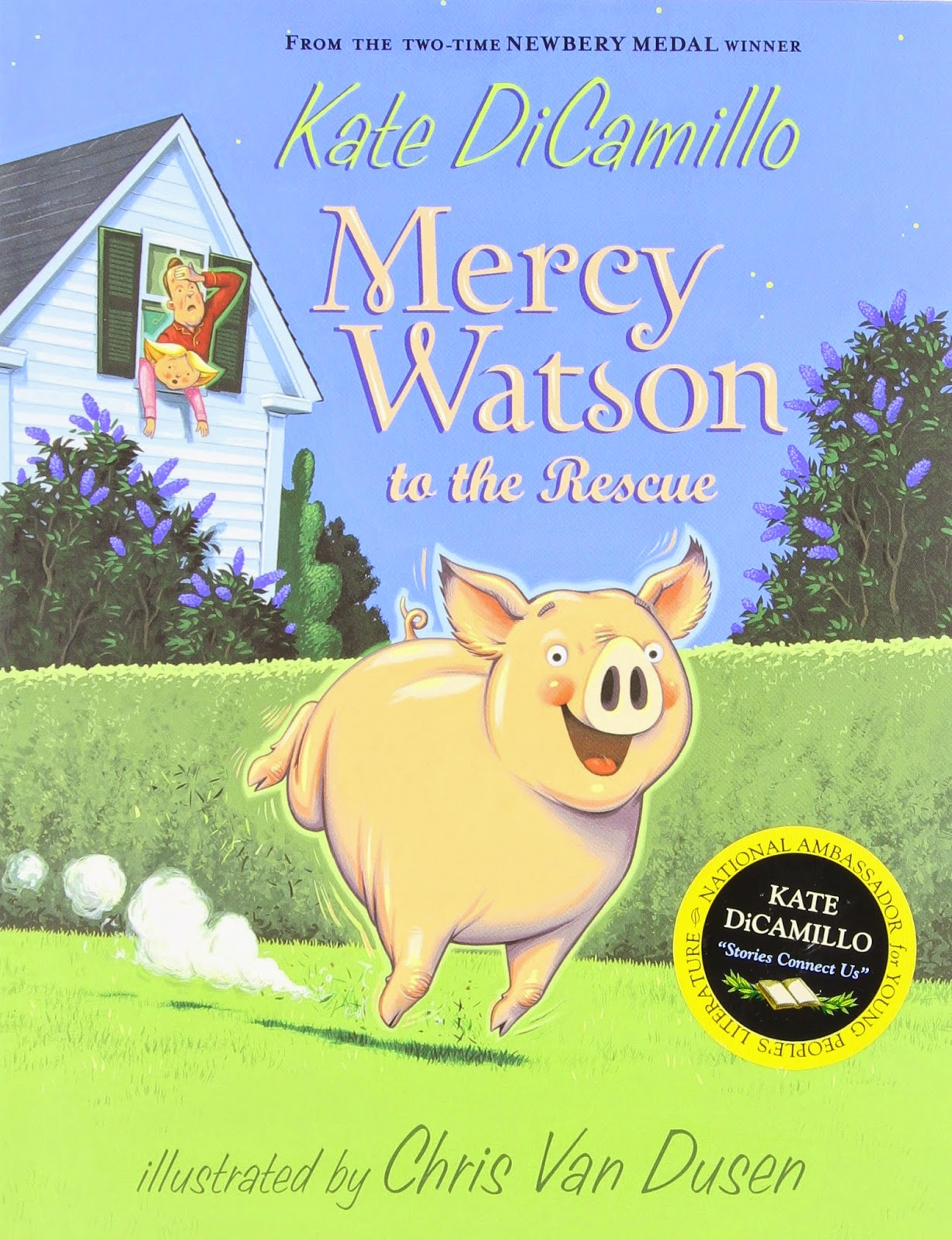 Mercy Watson to the Rescue as part of Chapter Books for Preschoolers List
