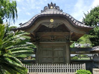 遊行寺中雀門