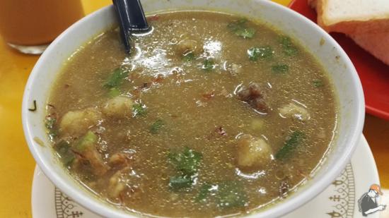 Sup Hameed Penang Cicah Roti Memang Sempoi