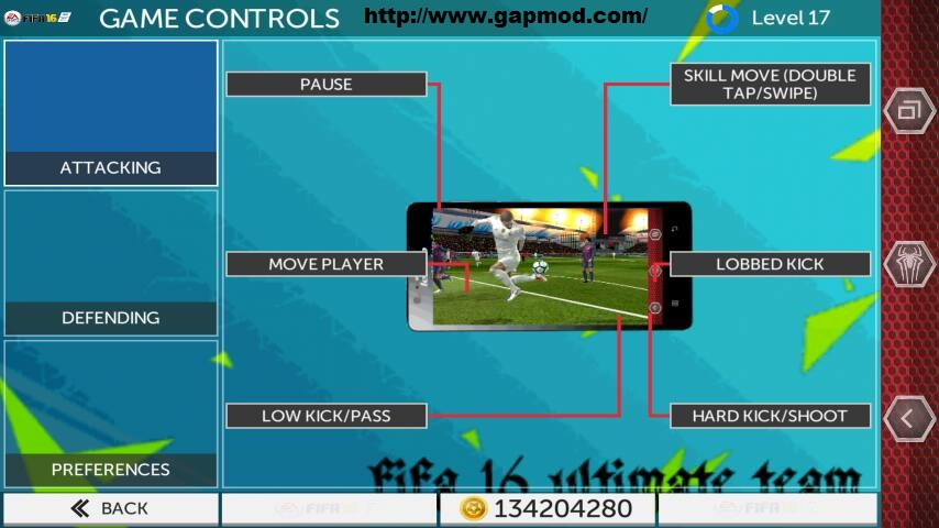 fts 15 mod fifa ultimate team 16 v2 0 9 apk obb by