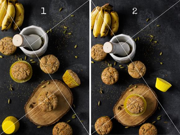 Triangulo de Oro en la composición de fotografía culinaria