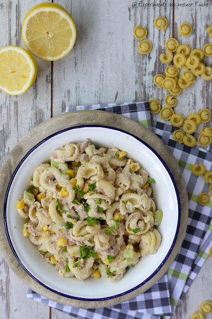 Experimente aus meiner Küche: Thunfisch-Nudel-Salat
