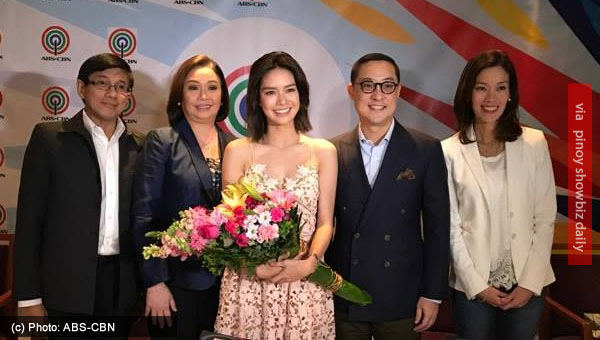 Erich Gonzales renews contract with ABS-CBN sporting a new hairstyle