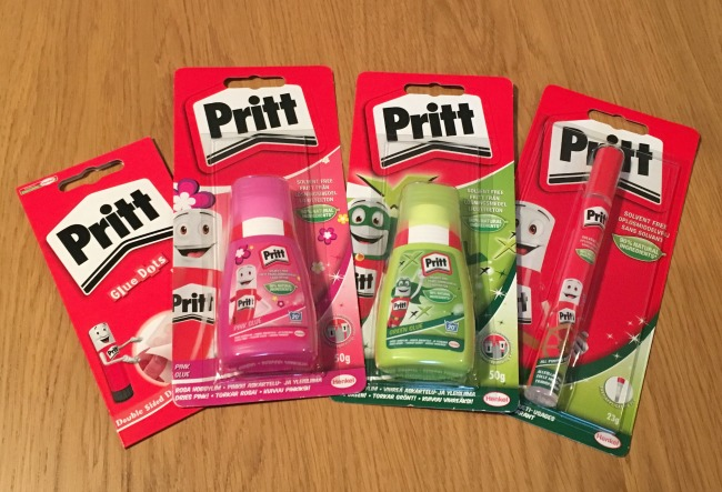 Get Stuck in With Pritt - Review selection of Pritt Glue and sticks