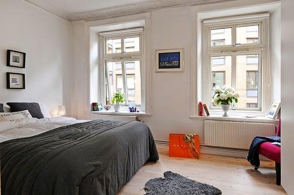 24 fotos quartos de casal estilo n rdico decora o e ideias for Decoracion nordica dormitorios