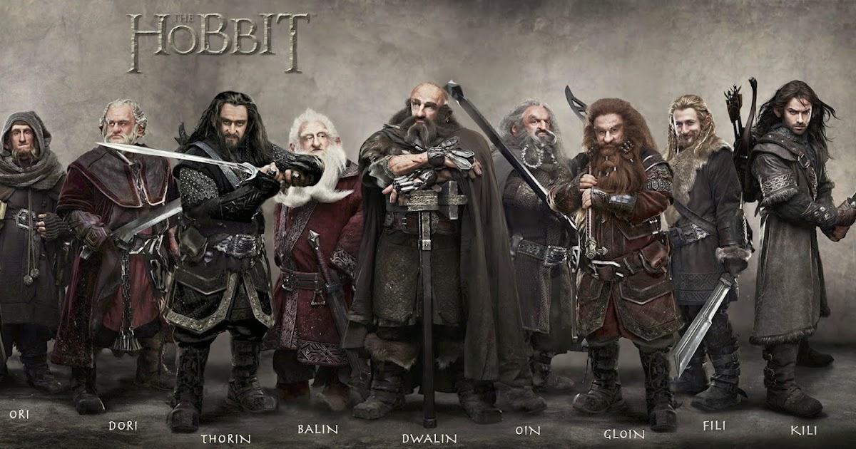 Corred, insensatos!: Los 13 enanos de El hobbit