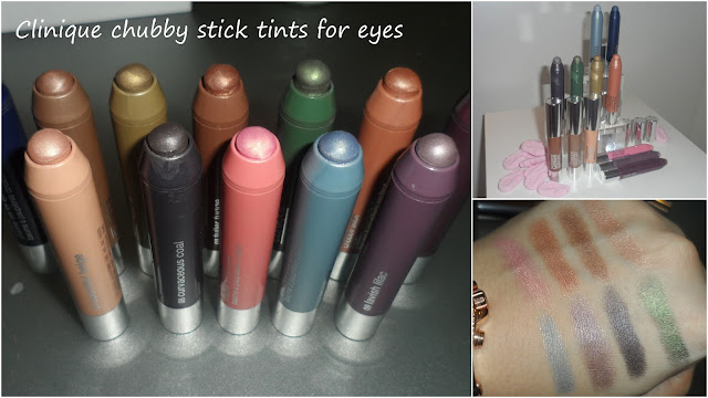 Clinique Chubby Stick Tints For Eyes And Even Better
