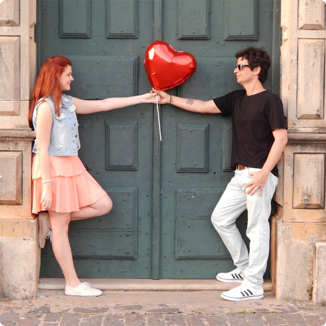 fotos balão de coração