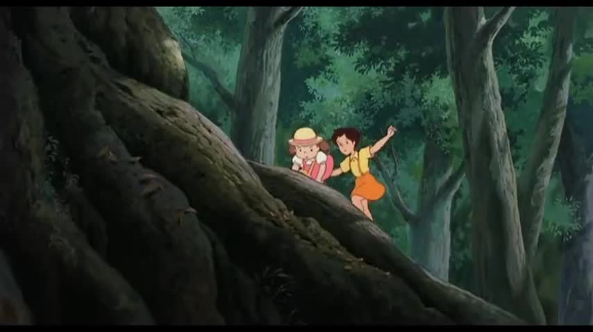 Giant tree My Neighbor Totoro 1988 animatedfilmreviews.filminspector.com
