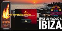 Logo Concorso ''Vola a Ibiza con Burn'': vinci viaggio e 122 Speacker Bluetooth Burn Limited Edition