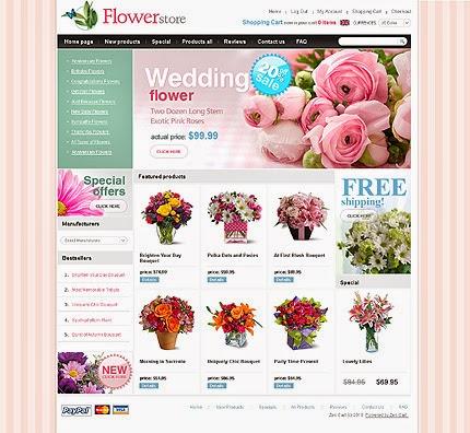 thiết kế web bán hàng hoa tươi