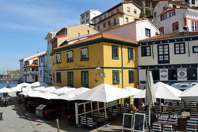 Plaza de la Marina, Cudillero, Asturias