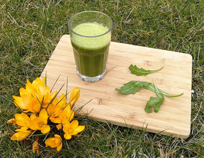 Rucola-Ananas-Orange-Smoothie