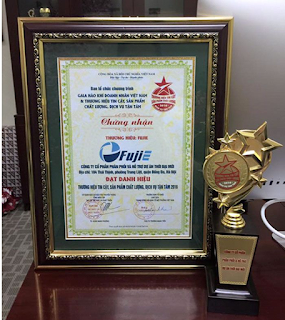 iấy chứng nhận FujiE là thương hiệu toàn cầu về sản xuất Cây nước nóng lạnh FujiE WD1500C giá rẻ có lọc