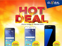 Promo Samsung Galaxy Terbaru 2016 di Global Teleshop dan OkeShop