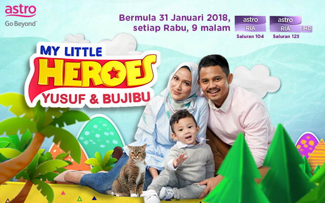 My Little Heroes Yusuf & Bujibu Episod 1