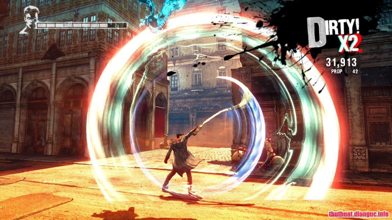DmC Devil May Cry free download, game chặt chém