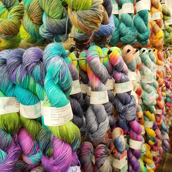 Siobhan Crafts yarn at Yarndale 2018