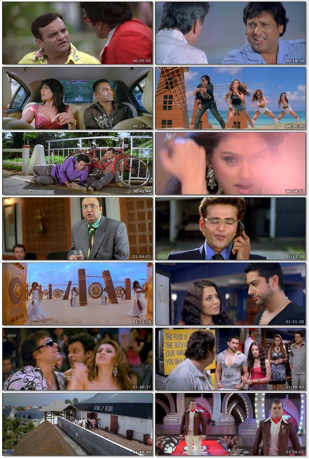 Screen Shot Of Money Hai Toh Honey Hai 2008 300MB HDRip 480P Full Hindi Movie Watch Online Free Download