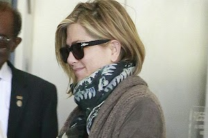 Jennifer Aniston went to the spa