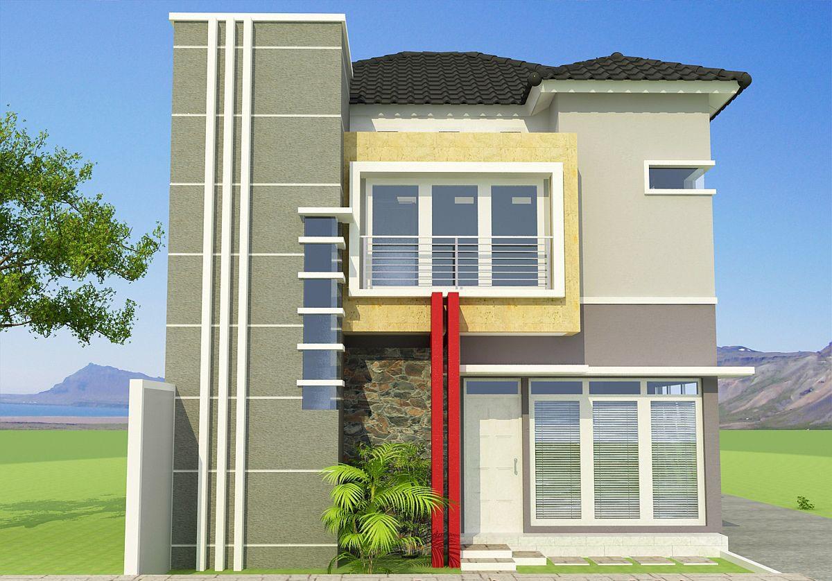 Rumah Minimalis Vektor Denah Rumah