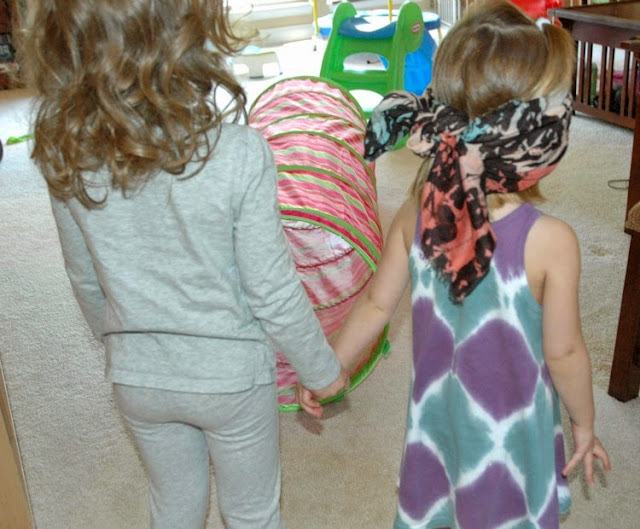Cooperative Obstacle Course Activity for Kids
