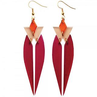 HRH Plum Earrings - Toolally Jewellery - Jewellery Blog