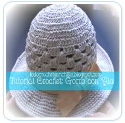 SOMBRERO CROCHET TUTORIAL