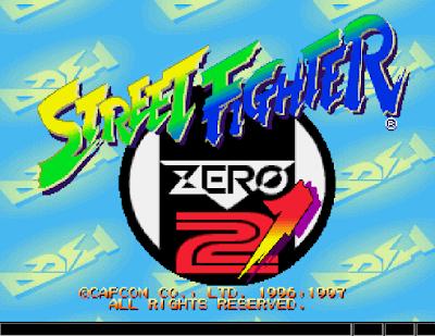 快打旋風ZERO 2(ストリートファイターZERO 2、Street Fighter Alpha 2)!