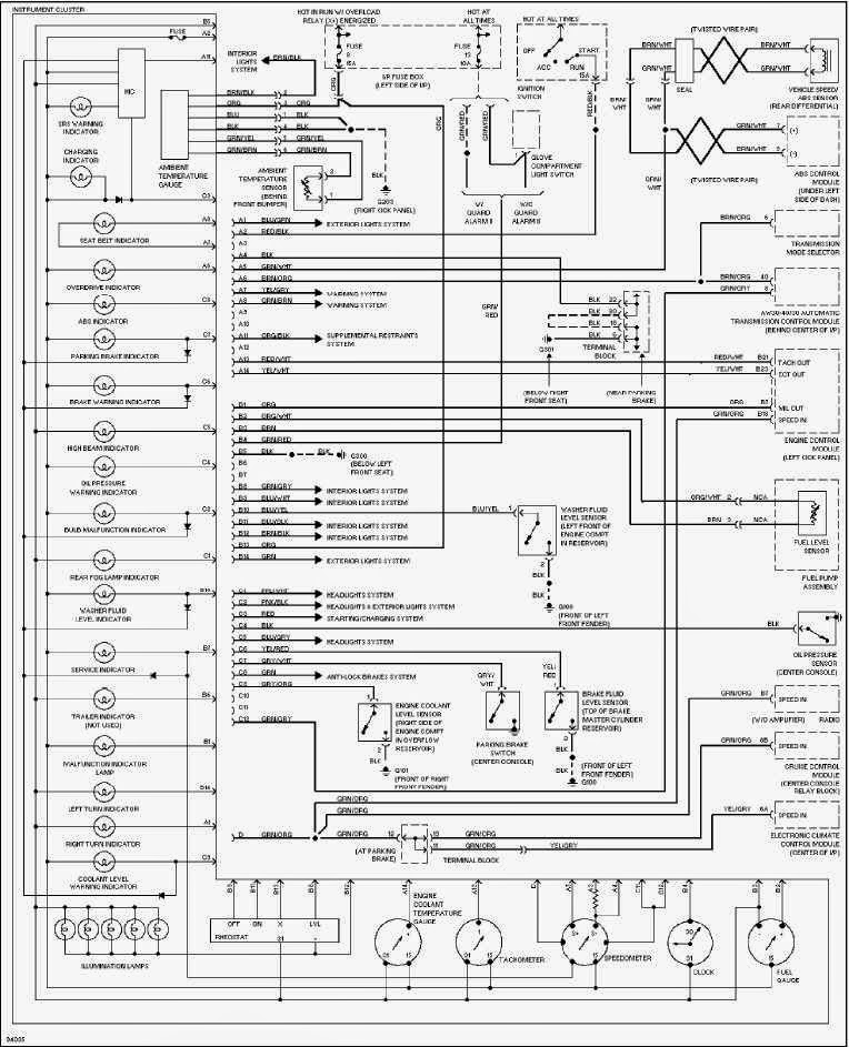 Fantastic 21003872 Wiring Diagram Ensign - Everything You Need to ...