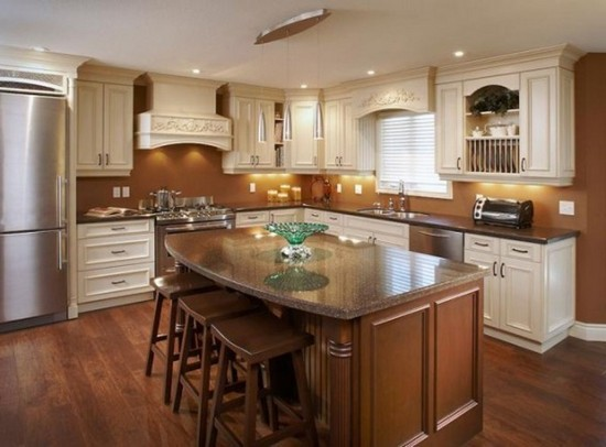 Standing Kitchen Islands With Seating