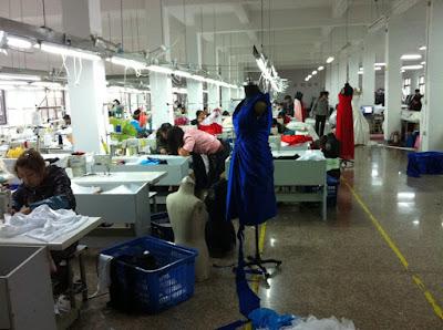 Xưởng may thiết kế thời trang