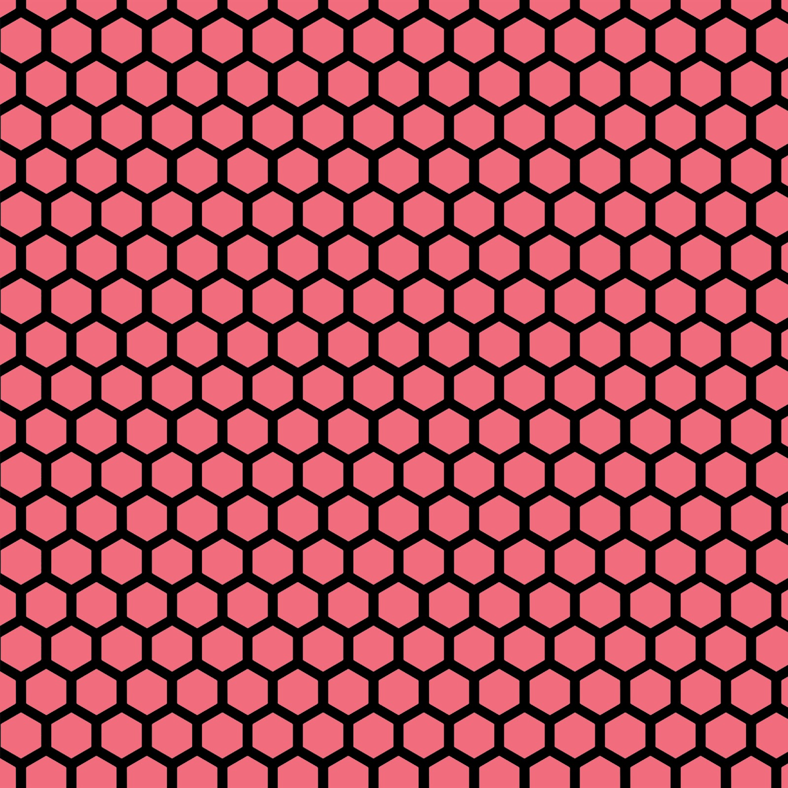 Black Pink And Silver Wallpaper Doodlecraft 15 Colorful Hues Hexagon Honeycomb Background