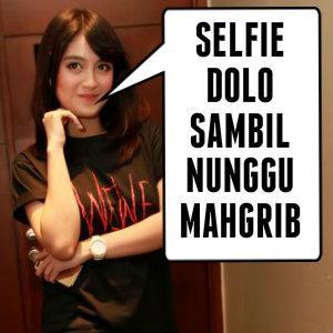 dp bbm meme lucu jkt 48 nabilah selfi dulu sebelum buka