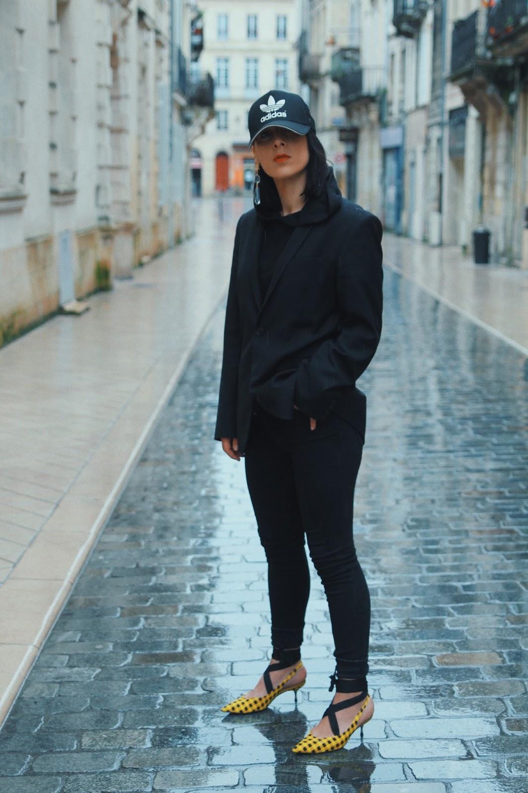idée de look tendance à carreaux printemps 2018