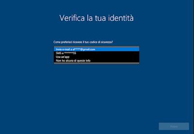 recuperopasswor02 - Il Fall Update di Windows 10 darà la possibilità di reimpostare la password dalla schermata di accesso