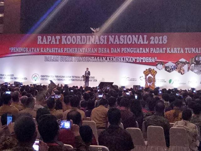 Perwakilan dari Kota Batu Menghadiri Rapat Koordinasi Pemerintahan Desa Seluruh Indonesia