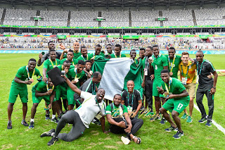 CONGRATS!!! Dream Team Has Won Bronze for Nigeria at #Rio2016 2