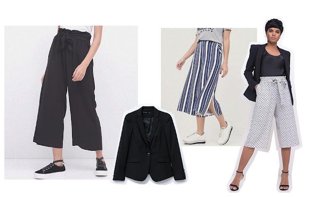 Com short dá pra substituir o de alfaiataria por jeans, que funciona muito Com body e pantacourt, bem modernete