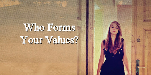 Do we form values by people's opinions or God's Word