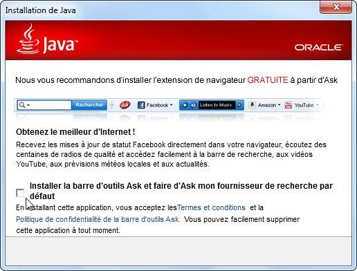 java télécharger la version 7 mise à jour 65