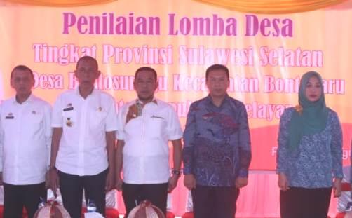 Terbaik Di Selayar, Bontosunggu, Ikut Lomba Desa Tingkat Provinsi Sulsel 2018