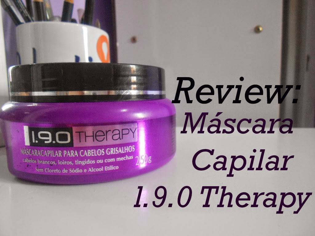 Review: Máscara capilar 1.9.0 Therapy