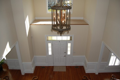 Decorate A High Ledge In Front Foyer