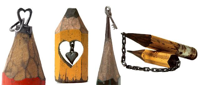 Миниатюрные скульптуры на грифиле карандаша Далтона Гетти (Dalton M. Ghetti) - DayDreamer Blog