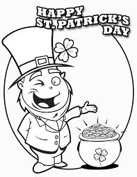 st patricks day coloring pages 2017, patrick images to color