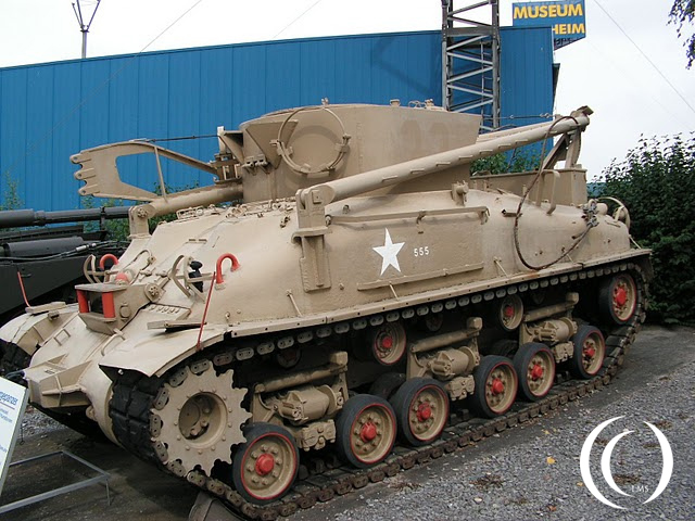 A Sherman M32 Recovery vehicle at Technology Museum Sinsheim, Germany