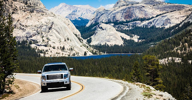 Como chegar no Parque Nacional de Yosemite de carro